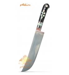 Узбекский нож пчак, черное дерево (граб) - Черная мамба
