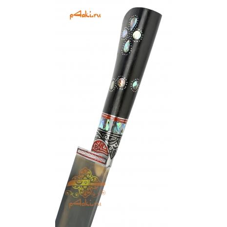 Узбекский нож пчак Черная мамба от усто Дониера