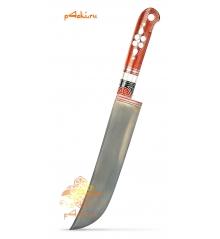 Узбекский нож пчак Красный от усто Хайрулло