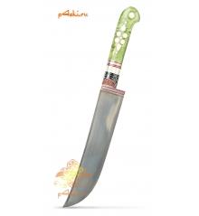 Узбекский нож пчак, кап клёна - Лаймовый десерт