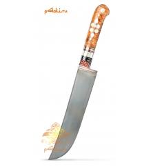 Узбекский нож пчак Оранжевый от усто Хайрулло