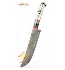 Узбекский нож пчак Северное сияние от усто Дониера