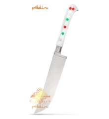 """Узбекский нож пчак """"Чирчик"""" с рукоятью из оргстекла - белый без бринча, нержавейка"""