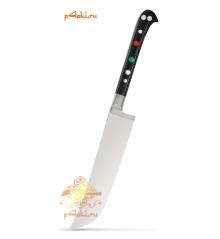 """Узбекский нож пчак """"Чирчик"""" с рукоятью из оргстекла - черный без бринча, нержавейка"""