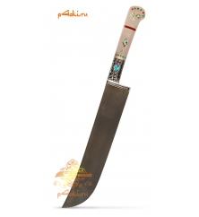 """Узбекский нож """"Касание дзен 2"""" от усто Бахрома и Элбека"""