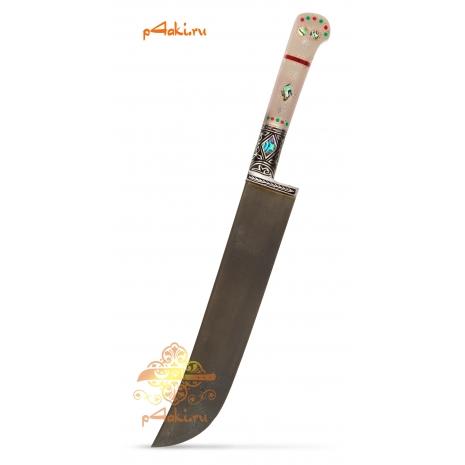"""фотография узбекского ножа пчак """"Касание дзен 2"""" от усто элбека"""