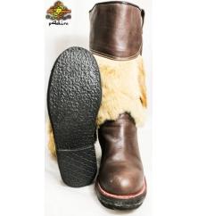 Сапоги монгольские женские двусторонняя собака 3