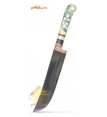 Узбекский нож пчак, кап клёна - Бирюзовый
