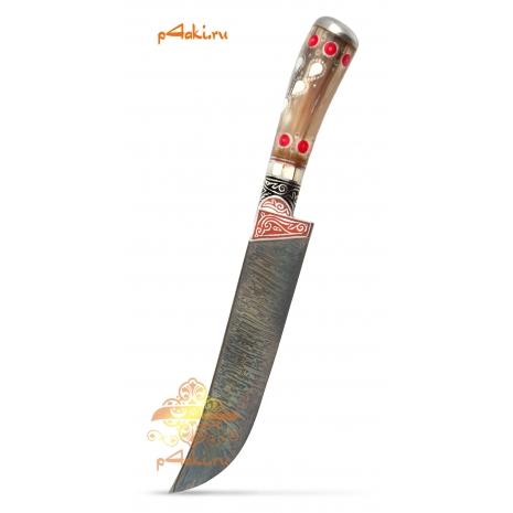 Узбекский нож пчак Койтау от усто Хуснидина