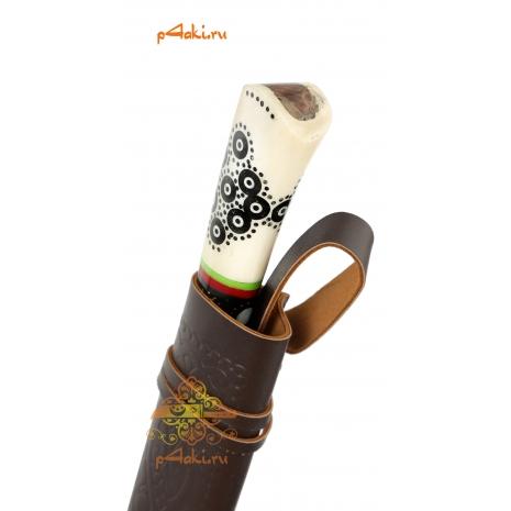 """Узбекский нож пчак """"Ферганское чудо"""", афганка от усто Ибрагима, кость"""