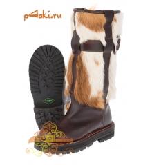 Сапоги монгольские женские двусторонняя собака (только 36 размер!)