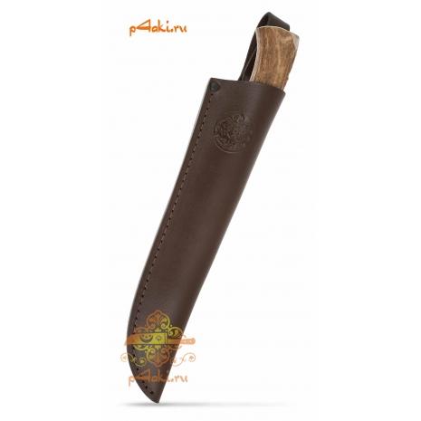 Фирменные кожанные ножны (клинок 17-18 см)