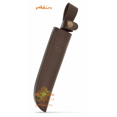 Фирменные кожанные ножны (клинок 15-17 см)