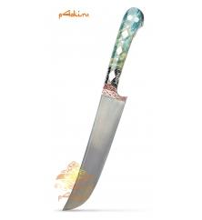 """Узбекский нож пчак от усто Дониера """"Южная ночь"""" ерма"""