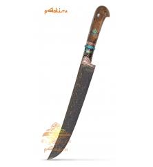 """Узбекский нож пчак """"Драконья чешуя"""", клинок ламинат"""