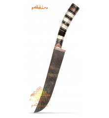 """Узбекский нож """"Горный ручей"""" дамаск"""