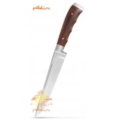 """Нож """"Бельчонок"""" (нержавейка) от Бахрома Юсупова в кожаных ножнах"""