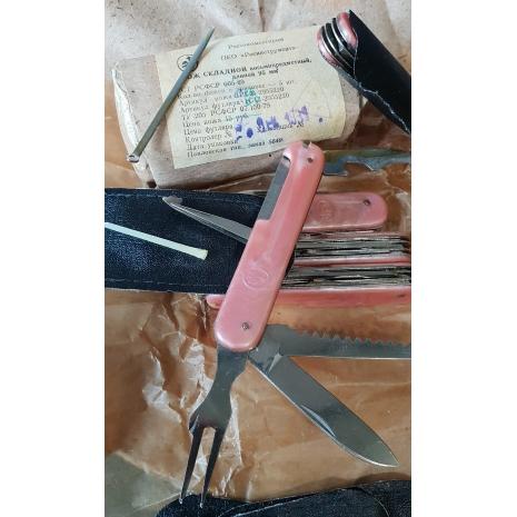 складной восьми предметный нож производства СССР